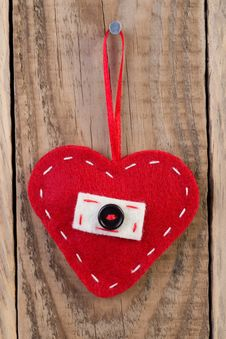 Free Heart Decoration Royalty Free Stock Images - 34198119