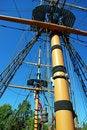 Free Ships Mast Royalty Free Stock Photography - 3422327