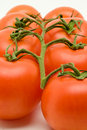 Free Vine Tomatoes Royalty Free Stock Photography - 3422787