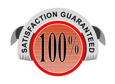 Free 100 Satisfaction Guaranteed Stock Images - 3420184