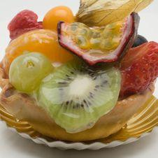 Free Fruit Cake Royalty Free Stock Image - 3422826