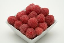 Raspberry Dessert Royalty Free Stock Images
