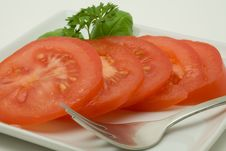 Free Sliced Tomato Stock Photography - 3423282