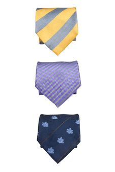 Free Three Silk Ties Royalty Free Stock Images - 3423409