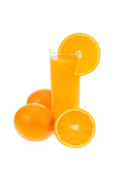 Free Fresh Orange Juice Royalty Free Stock Photo - 3423865