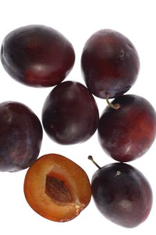 Free Plums Royalty Free Stock Photography - 3423927