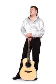 Free The Guitarist Stock Photos - 3424193