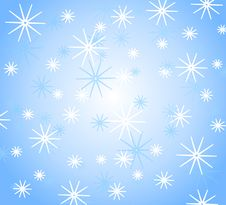 Free Snowflake Background Pattern Royalty Free Stock Images - 3424749