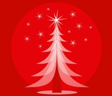 Free Red Opaque Christmas Tree Stock Photos - 3424883