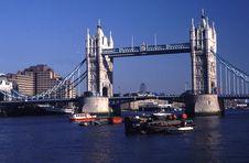 Free Tower Bridge Royalty Free Stock Image - 3425116
