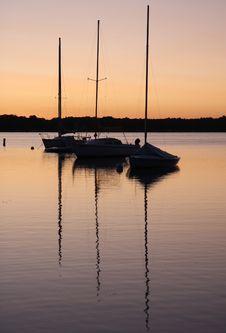Free Sunrise On The White Bear Lake Stock Photo - 3425460