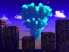 Free Nuclear Blast Stock Image - 3425591