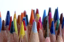 Free Colors Pencils Royalty Free Stock Photos - 3425778