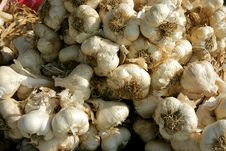 Free Garlic Stall Royalty Free Stock Photo - 3425925