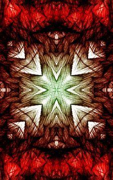 Free Red Green Grunge Design Royalty Free Stock Photos - 3426148