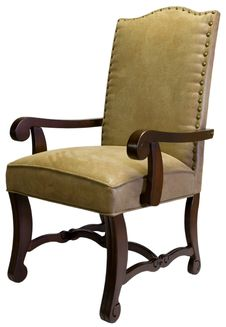 Free Accent Chair In Nail Head Trim Royalty Free Stock Images - 3426619