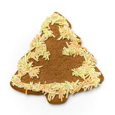 Free Gingerbread Cookie Royalty Free Stock Photo - 3426925