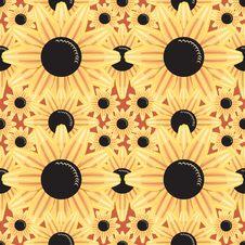 Free Flowers Seamless Pattern Stock Photos - 3427143
