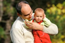 Free Father And Son Royalty Free Stock Images - 3427189