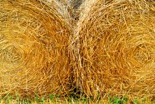 Free Straw Bales Stock Images - 3428774