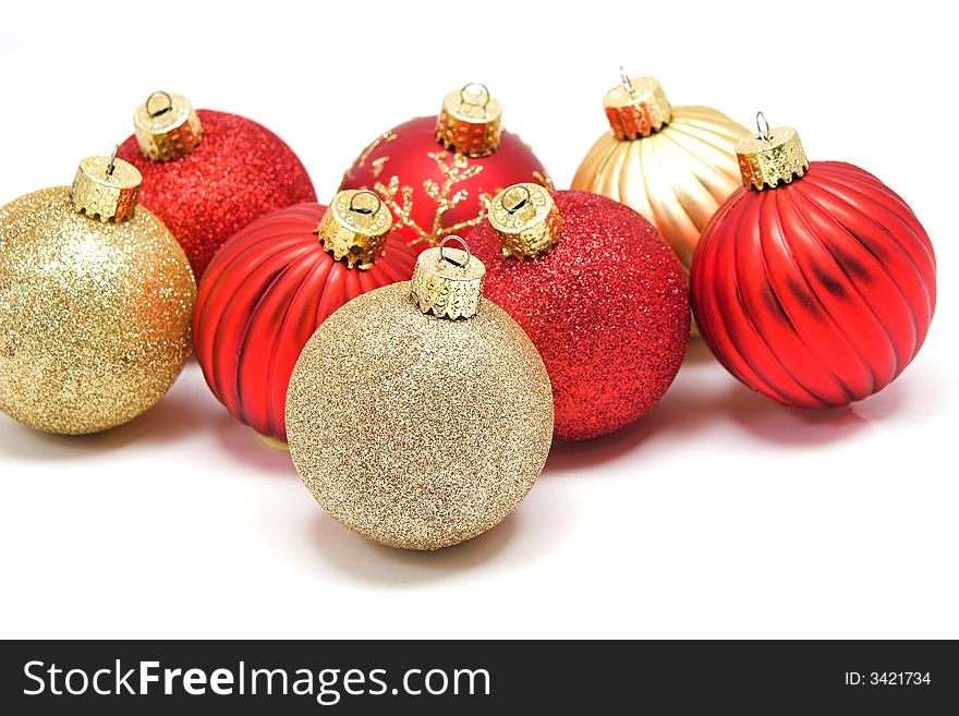 christmas ornaments redgold