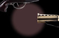 Free Trigger That Is On A Revolver Royalty Free Stock Image - 34203836
