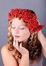 Free Beautiful Autumn Portrait Stock Image - 34207841