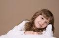Free Portrait Of Beautiful Girl On Studio Stock Photo - 34208950