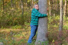 Free Tree Hugger Stock Photography - 34202102
