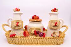 Free Kitchen Set Royalty Free Stock Photography - 34202487