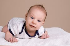 Free Cute Smiling Baby Stock Images - 34208614