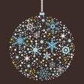 Free Christmas Balls Background Stock Photo - 34211960