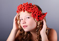 Free Beautiful Autumn Portrait Stock Photos - 34214903