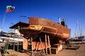 Free Ship Construction Royalty Free Stock Photos - 34215708