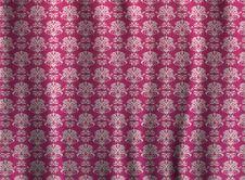 Free Art Pattern Curtains Stock Photos - 34210213