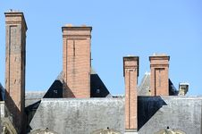 Free Chimneys Stock Photography - 34257002