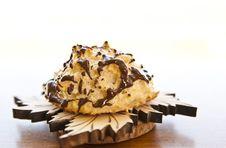 Coconut Macaroon Stock Photo