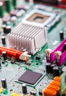 Free Circuit Board Royalty Free Stock Photography - 34257857