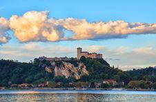 Free Fortress Borromeo Of Angera - Italy - 2 Royalty Free Stock Image - 34258776