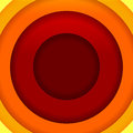 Free Abstract Red, Orange And Yellow Round Shapes Backg Royalty Free Stock Image - 34260086