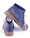 Free Blue Shoes Royalty Free Stock Image - 34264196