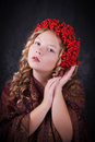 Free Beautiful Autumn Portrait Stock Images - 34269764