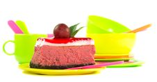 Tasty Looking Piece Of Cake Royalty Free Stock Photography