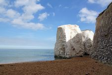 Free Botany Bay Chalk Rocks Royalty Free Stock Photography - 34269217