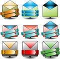 Free Advertising Email Icon Stock Photo - 34271280