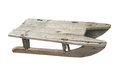 Free Old Child's Wooden Sled Isolated Stock Photo - 34271640