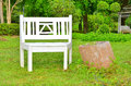 Free White Bench Stock Images - 34273744