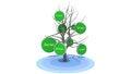 Free Social Tree Royalty Free Stock Photos - 34274988