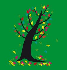 Free Leaves On The Tree Royalty Free Stock Images - 34278819