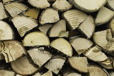 Free Wooden Logs Stock Photography - 34282492